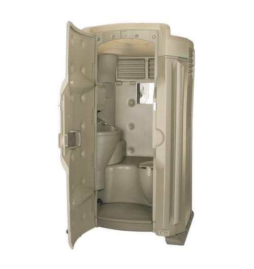 vip toiletcabine binnenkant