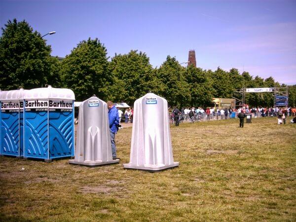 Bathen verhuur toiletten evenement